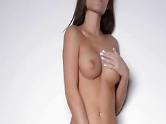 Sexy dance and tease of hot babe