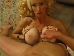 Huge fake tits fucked