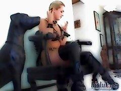 Jessica Sweet loves fetish gear