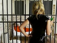 British slut Tanya Tate gets fucked in a fake jail