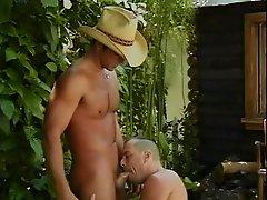 Washing a Cowboy