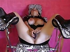 Big Titty MILF Using Her Vibrators