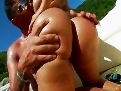 hardcore grass anal fucking