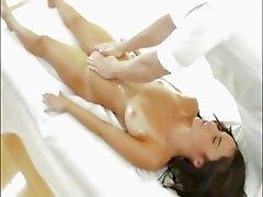 Huge boobs hottie massaged and fucked