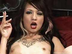Coco Velvett - Smoking Fetish at Dragginladies