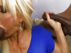 Erica Lauren getting shared by hung black Burglars
