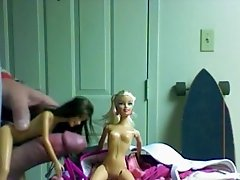 Barbie and her friend are dirty girls