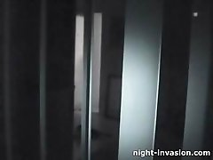Teen Fucked on Night Vision Cam