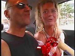 Diana's BJ in car