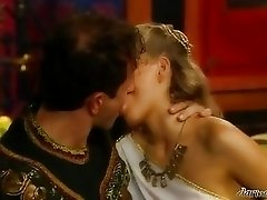 Gorgeous babes and orgy in old Rome style