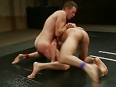 Nude gays wrestling