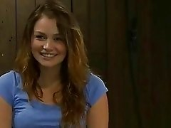 Hot girl goes from giggles