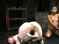 Blonde big tits bondage bdsm and lost bet punishment Sexy