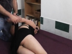 Czech wannabe tied and roughly fucked