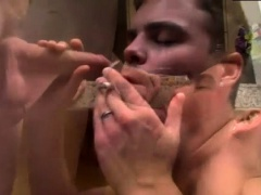 Hugh shaved dick movietures gay Jake Parker & Dustin Fitch