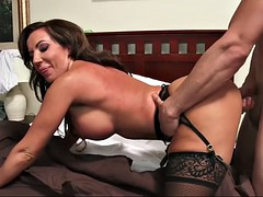 hunky fella is seduced by thick step-mom richelle ryan