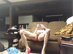Andy have fun with a jack rabbit vibration