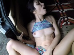 Public agent bangs nice butt brunette