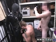Gay hunk male free clips Dungeon master with a gimp