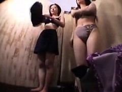 Cute shaved asian fingering on hidden cam