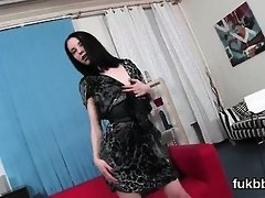 Hot bombshell stretches her muff and enjoys hardcore sex
