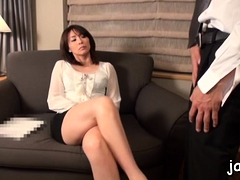 Youthful japanese slut gives a steamy pov oral stimulation