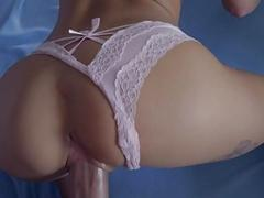 Hung guy hammers two hot blondes super hard in POV