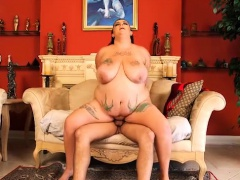 Huge Belly And Tit BBW Natalia Springs