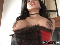 Stupid Hot Lesbians StrapOn Fucking Big Tits