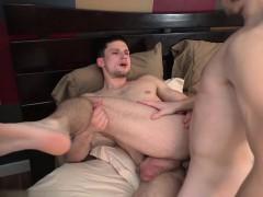 Big dick twink anal sex and cumshot