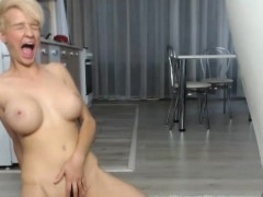 Lustful Big Tits Camgirl Masturbates For Your Enjoyment