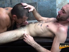 Latino barebacks and cums
