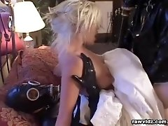 Lovely Bride's Double Penetration video