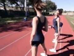 Horny Track Athletes Lets Loose