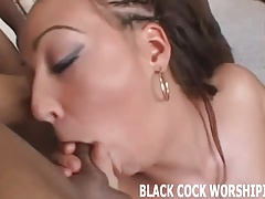 You will love watching me take a big black cock