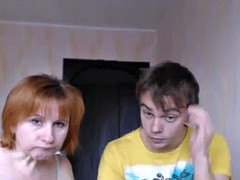real mom-son webcam 3
