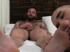 Gay legs up anal interracial Derek Parker's Socks and Feet W