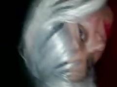 Sexy  blonde fucks bbc