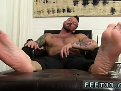 Gay foot photos first time Hugh Hunter Worshiped Until He Cu