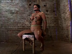 chair tied and vibed