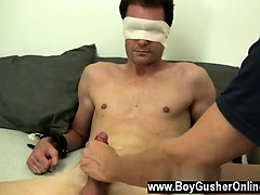 Twinks XXX Mr. Hand rocks Cameron's world and he gushes a fa