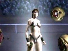 3D Battle of Sexes Pussy Vs. Monstercocks - FreeFetishTVcom