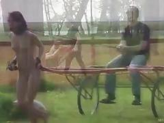 Caged bound skank punished and humiliated by master BDSM porn
