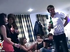 Young group sex with hot students