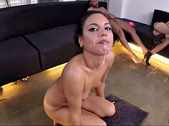 superb orgy with spanish and mexican whores fucking till exhaustion