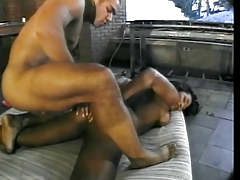 Brazilian shemale slut butt banged