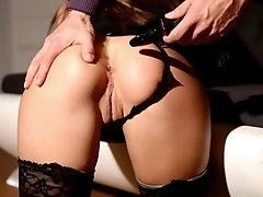 Submissive Training - Dominant Teaches Prostitute How To Behave, Part 1