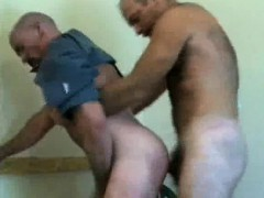 Ass Fucking Officers Unloads