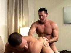 Rimming muscled gay hunk