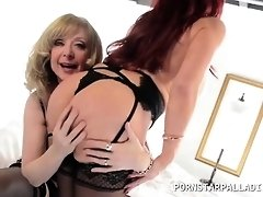 Nina Hartley lezzing it out